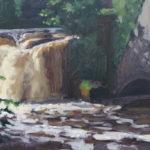 Mill waterfall