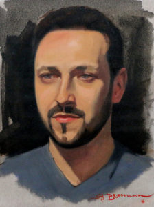 Portrait Sketch – Faces from Madrid
