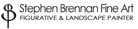 Logo for St Brennan Fine Art